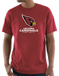 "Arizona Cardinals Majestic NFL ""Critical Victory 3"" Men's S/S T-Shirt - Red"