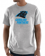 "Carolina Panthers Majestic NFL ""Critical Victory 3"" Men's S/S T-Shirt - Gray"