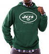 "New York Jets Majestic NFL ""Critical Victory 3"" Men's Hooded Sweatshirt"