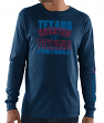 Houston Texans Majestic NFL Primary Receiver 3 Men's Long Sleeve T-Shirt