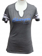 "Los Angeles Chargers Women's Majestic NFL ""Game Tradition 2"" Tri-Blend T-shirt"
