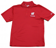 "Wisconsin Badgers Under Armour NCAA ""Passing"" Men's Performance Polo Shirt"