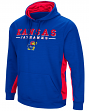 "Kansas Jayhawks NCAA ""Big Upset"" Men's Pullover Hooded Sweatshirt"