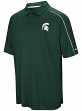 """Michigan State Spartans NCAA """"Setter"""" Men's Performance Polo Shirt"""