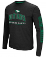 "North Dakota Fighting Hawks NCAA ""Sky Box"" Long Sleeve Dual Blend Men's T-Shirt"