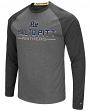 "Pittsburgh Panthers NCAA ""Ultra"" Men's Long Sleeve Charcoal Raglan T-Shirt"
