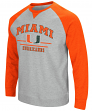 "Miami Hurricanes NCAA ""Turf"" Men's Pullover Crew Sweatshirt"