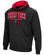 "Texas Tech Red Raiders NCAA ""End Zone"" Pullover Hooded Men's Sweatshirt - Black"