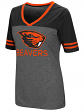 "Oregon State Beavers Women's NCAA ""McTwist"" Dual Blend V-neck T-Shirt"