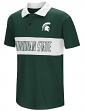 """Michigan State Spartans NCAA """"Setter"""" Youth Performance Polo Shirt"""