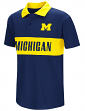 """Michigan Wolverines NCAA """"Setter"""" Youth Performance Polo Shirt"""