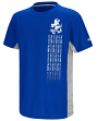 "Air Force Falcons NCAA ""Power Set"" Youth Short Sleeve Performance T-Shirt"