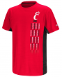"Cincinnati Bearcats NCAA ""Power Set"" Youth Short Sleeve Performance T-Shirt"