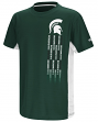 """Michigan State Spartans NCAA """"Power Set"""" Youth Short Sleeve Performance T-Shirt"""