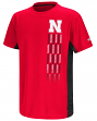 "Nebraska Cornhuskers NCAA ""Power Set"" Youth Short Sleeve Performance T-Shirt"