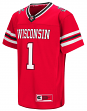 "Wisconsin Badgers NCAA ""Hail Mary Pass"" Youth Football Jersey"