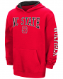 North Carolina State Wolfpack NCAA End Zone Pullover Hooded Youth Sweatshirt