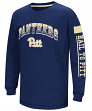 "Pittsburgh Panthers NCAA ""Grandstand"" Long Sleeve Dual Blend Youth T-Shirt"