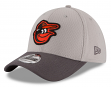 Baltimore Orioles New Era MLB 39THIRTY Cooperstown Team Grayed Flex Fit Hat