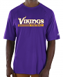 "Minnesota Vikings Majestic NFL ""Total Fanfare"" Men's S/S Performance Shirt"