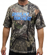 "Carolina Panthers Majestic NFL ""In The Woods"" Men's Camo Short Sleeve T-Shirt"