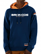 "Denver Broncos Majestic NFL ""Dynasty"" Men's Pullover Hooded Sweatshirt"