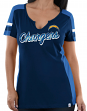 Los Angeles Chargers Women's Majestic NFL Pride Playing 2 V-notch Fashion Shirt