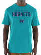 "Charlotte Hornets Majestic NBA ""Hot Picks"" Men's Tri-Blend Short Sleeve T-Shirt"