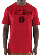 "Portland Trail Blazers Majestic NBA ""Hot Picks"" Men's Tri-Blend S/S T-Shirt"