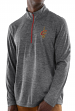 """Cleveland Cavaliers Majestic NBA """"Focused"""" 1/2 Zip Mock Neck Pullover Shirt"""