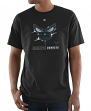 "Charlotte Hornets Majestic NBA ""Visionary"" Men's Short Sleeve Black T-Shirt"