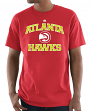 "Atlanta Hawks Majestic NBA ""Heart & Soul 3"" Men's Short Sleeve T-Shirt"