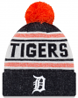 "Detroit Tigers New Era MLB ""Toasty Cover"" Cuffed Knit Hat with Pom"