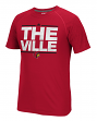 "Louisville Cardinals Adidas NCAA ""City Nickname"" Men's Climalite S/S T-Shirt"