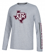 "Texas A&M Aggies Adidas NCAA ""Play to Win"" Men's Climalite Long Sleeve T-shirt"
