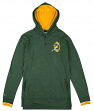 "Green Bay Packers Mitchell & Ness NFL ""Seal The Win"" L/S Hooded Men's Shirt"