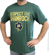 "Notre Dame Fighting Irish Champion NCAA Men's ""Respect the Shamrock"" T-Shirt"