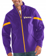 "Minnesota Vikings NFL G-III ""The Franchise"" Full Zip Premium Soft Shell Jacket"