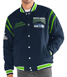 "Seattle Seahawks G-III NFL ""All Time"" Men's Commemorative Varsity Jacket"