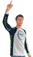 "Seattle Seahawks G-III NFL ""Big Hitter"" Men's Long Sleeve Slub Shirt"