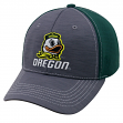 """Oregon Ducks NCAA Top of the World """"Upright"""" Structured Mesh Hat"""