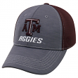 """Texas A&M Aggies NCAA Top of the World """"Upright"""" Structured Mesh Hat"""