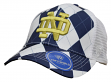 """Notre Dame Fighting Irish Top of the World """"Get Loud"""" Argyle & Mesh Back Hat"""