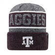 "Texas A&M Aggies NCAA Top of the World ""Below Zero 2"" Cuffed Knit Hat"