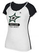 "Dallas Stars Women's Adidas NHL ""Skates"" Dual Blend Premium T-shirt"