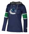 "Vancouver Canucks Women's NHL Adidas ""Crewdie"" Pullover Hooded Sweatshirt"