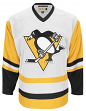 """Pittsburgh Penguins CCM Adidas NHL Men's """"Team Classic"""" Authentic White Jersey"""