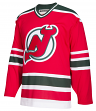 "New Jersey Devils CCM Adidas NHL Men's ""Team Classic"" Authentic Red Jersey"