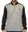 "Alabama Crimson Tide NCAA ""Top Notch"" Men's 1/4 Zip Mock Neck Jacket"