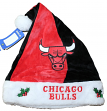 Chicago Bulls 2017 NBA Basic Logo Plush Christmas Santa Hat